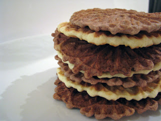 If you can't bake cookies, make pizzelle!