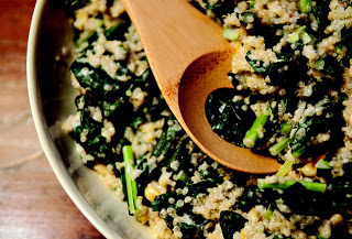 One-Pot Kale and Quinoa Pilaf Recipe and Food52 Cookbook Giveaway