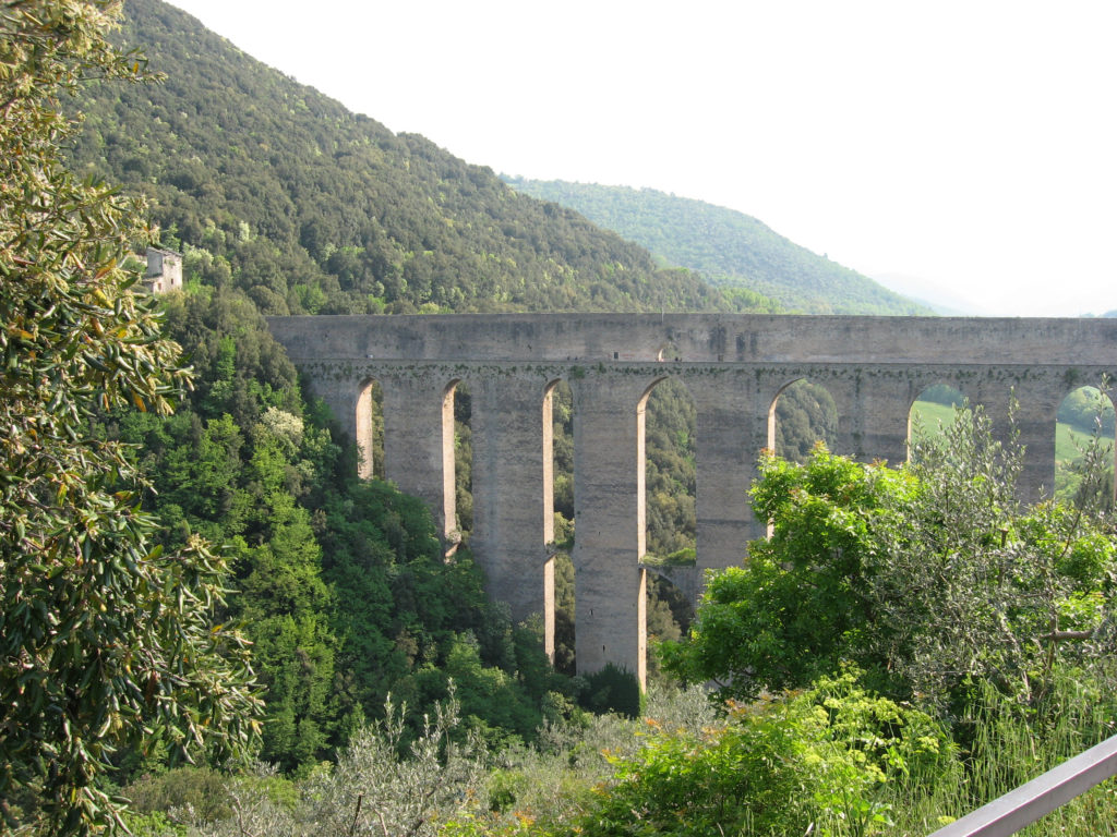 Il Ponte delle Torri in Spoleto