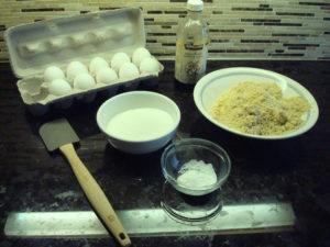 Walnut Torta ingredients