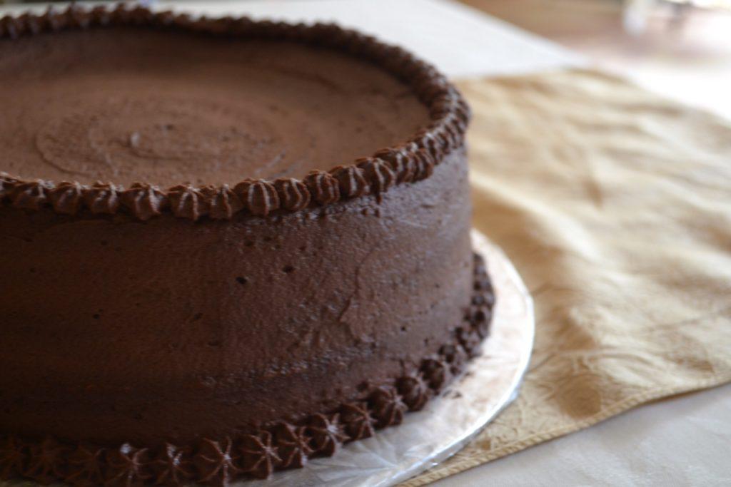 Walnut TortaWalnut Torta with Chocolate Whipped Cream Frosting
