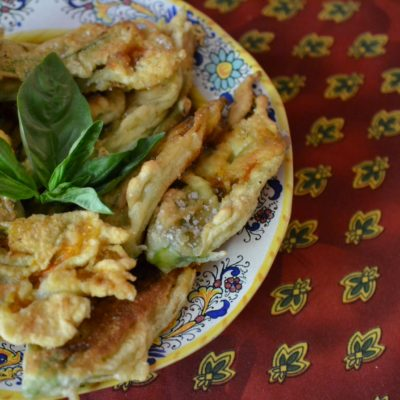 Fried Zucchini Blossoms Family Recipe