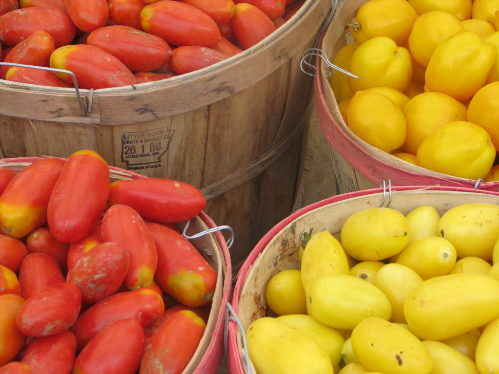 Tomatoes for preserving