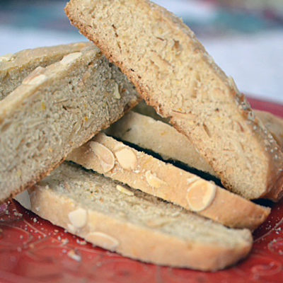 Honey Spiced Biscotti