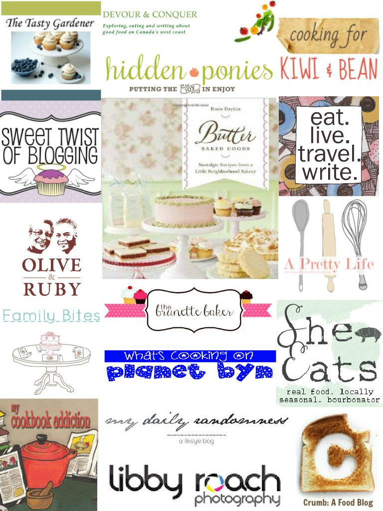 Butter Baked Goods collage
