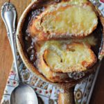 Simple French Onion Soup: Gatherings cookbook blog tour