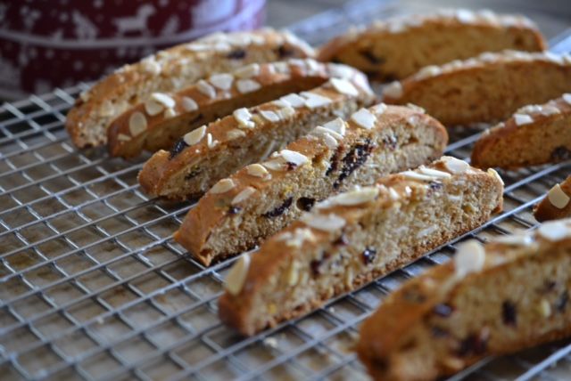 Almond Cranberry Biscotti 2