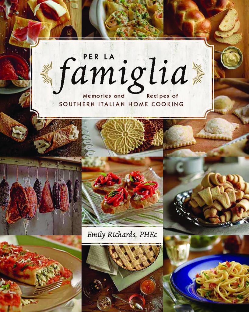 Italian Cookbook Cover : Per la famiglia cookbook review and recipe