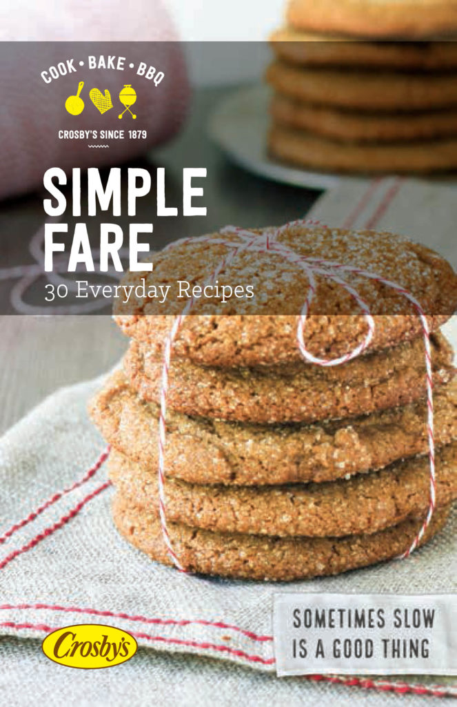 Crosby Simple Fare cokbook