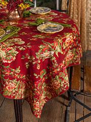 April Cornell Round Tablecloth