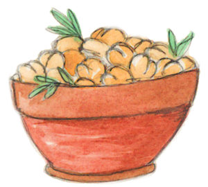A Thyme and Place Virile Chickpeas